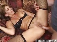 Anal sex with the tempting girl in stockings tubes