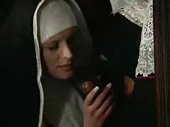 Nun is horny for deep anal sex tubes