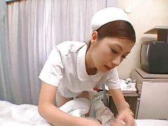 Japanese nurse treats him with hot fucking tubes