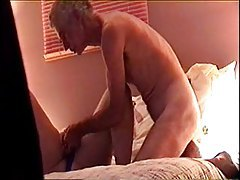 Older amateur couple doing fuck video tubes