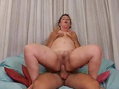 Chubby mature and her love of big cock tubes