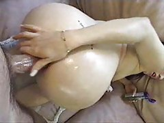 She gives a BJ and gets fucked in the ass tubes