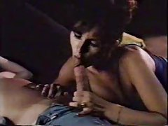 Classic porn pleasure with a BJ and sex tube