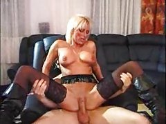 Guy fucks a slutty German milf in pussy tubes