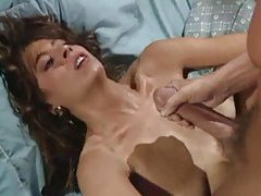 Classic pornstar Christy Canyon taking cumshots tubes