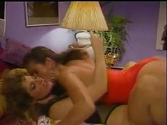 Girls in 80s porn movie have lusty lesbian sex tubes