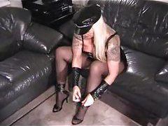 Hot mistress milf talks to you about stroking tubes