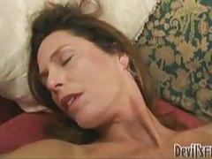 Milf in her lingerie looks alluring tubes