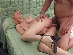 Big tit chick is eager to pleasure the dick tubes