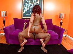Curvy black BBW has sex and looks hot tubes