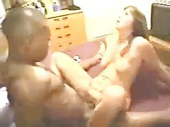 Big black cock nails a hot white wife tubes