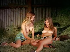 Babes in a barn get naked tubes