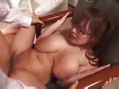 Japanese big tits bikini girl fools around tubes