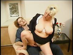 Chubby mature gives in to younger man tubes
