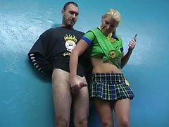 Girl scout gives a handjob tubes