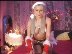 Christmas webcam show with perfect body girl tubes