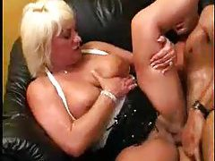 Chubby white milf sits on a dick tubes