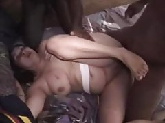 Hubby films black guys with his curvy wife tubes