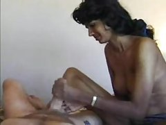 Indian amateur gives white guy a handjob tubes