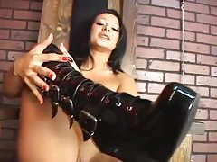 POV femdom from a babe in the dungeon tubes