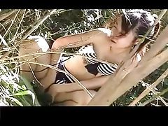 Bikini chicks masturbate on voyeur cam tubes
