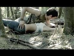 Sex scene in the woods from a movie tubes
