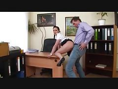 Young secretary fucked by her boss tubes