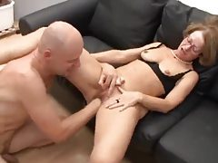 Nerdy milf blows and is fisted deeply tubes