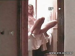 Hot blond amateur girlfriend doing it tubes