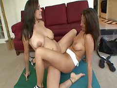 Teenage cunt is there for the milf to use tubes