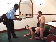 Black guy joins in on the milf fucking tubes