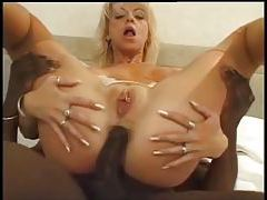 Blonde milf meets her BBC lover tubes