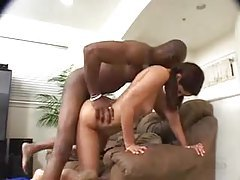 Horny pigtails teen lets black guy have her tubes
