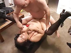 Fat mature fucked by her husband tubes