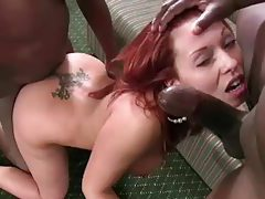 Gangbang and cumshots with Holly Berry tube
