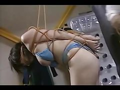 Asian Rubber Tube Tied And Spanked tubes