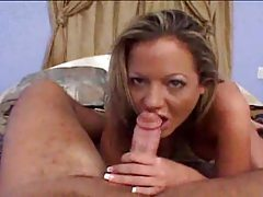 She is all about blowing his big cock tubes