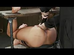 Busty bound babe is forced to orgasm tubes