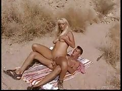 Ass pounded blonde lady outdoors tubes