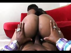 Chubby black chick rides his dick well tubes
