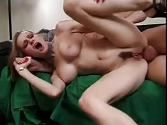 Fake tits girl rides him with her ass tubes