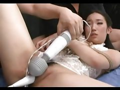 Tied Asian Sucking And Getting Toyed tubes