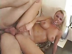 Bree Olson hammered in her asshole tubes