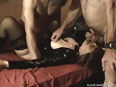 Slave wife gangbanged at home tubes