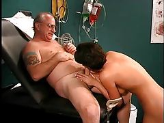Nikita Checks Uncle Jesses Load tubes