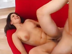He paints her face after a big cock fuck tubes