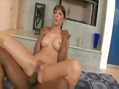 Slick chick takes a fucking from a black dude tubes