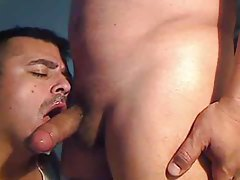 Gay Latin guy gives a blowjob tubes