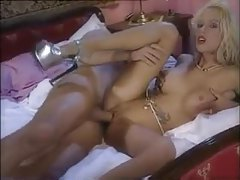 Hot blonde with luscious lips loves anal tubes