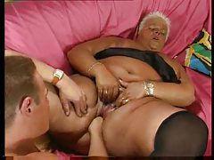Fisting a hugely fat blonde bitch tubes